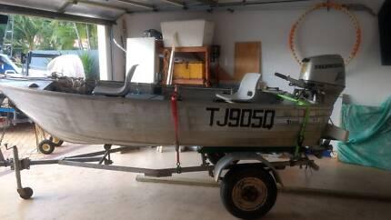 Stessl Aluminium Fishing Boat
