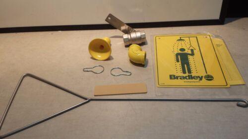 New** Missing a piece - BRADLEY S19-120 Emergency Shower, Horizontal, 20 gpm