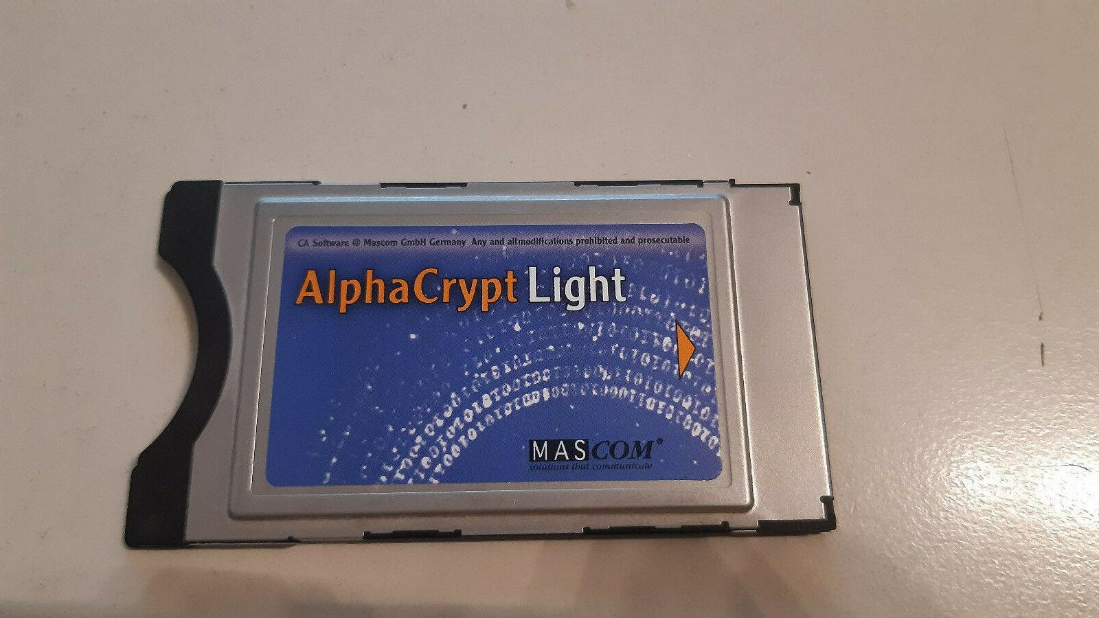 AlphaCrypt Version R2.2 Light CI Modul Version R2.6
