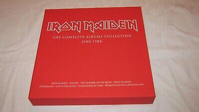 """IRON MAIDEN """"The Complete Albums Collection 1980 - 1988"""" 3 X LP + BOX comprar usado  Enviando para Brazil"""
