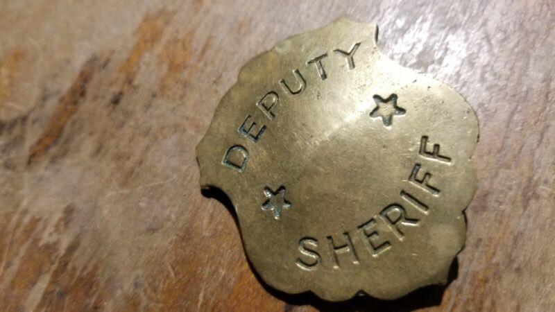 Obsolete Deputy Sheriff Badge