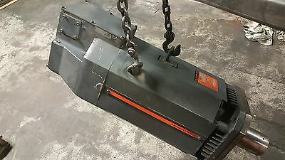 Mitsubishi AC Spindle Motor, 9/18.5 kW, # SJ-18.5AZ, 1500-7500 RPM, 1987, Used