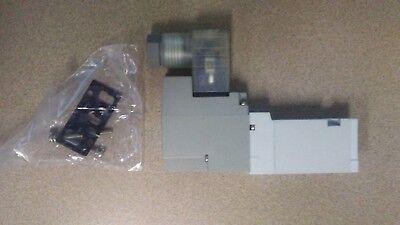 Lot Of 10 Smc Syj5140-6dz 110 Vac Single Solenoid Pneumatic Valve Syj5140