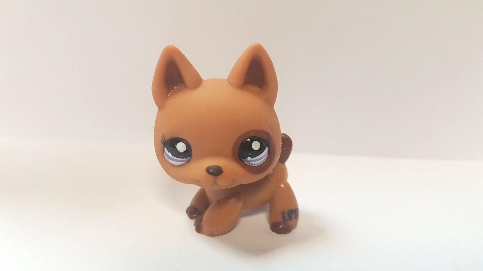 Figurine petshop original chien dog berger allemand 1191  pet shop lps