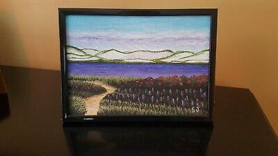 "Framed 5""x7"" Original Acrylic Lanscape, Cape Cod, MA #2"