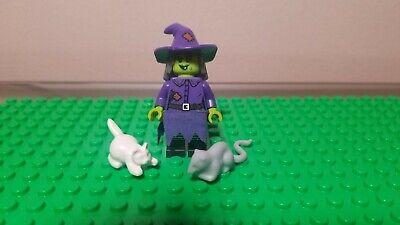 LEGO 71010 Minifigures Series 14 Wacky Witch Minifig w/ Cat & Rat - Halloween
