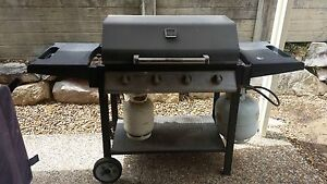 4 burner bbq and 2 gas bottles Collingwood Park Ipswich City Preview