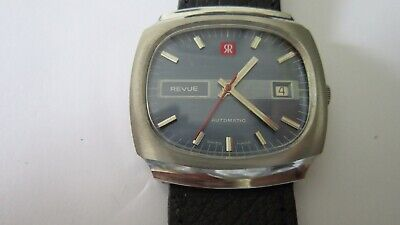 VINTAGE REVUE AUTOMATIC DATE GENTS WATCH CALIBRE MSR 56