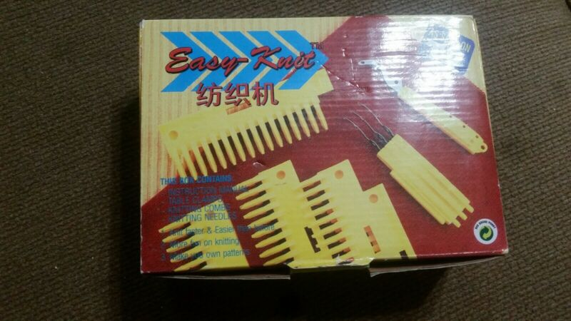 EASY-KNIT (similar to Knitting Pal) Handstitch Loom AS SEEN ON TV [New Open Box]