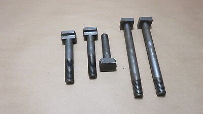 Milling Drilling Machine T Bolt Hold Downs