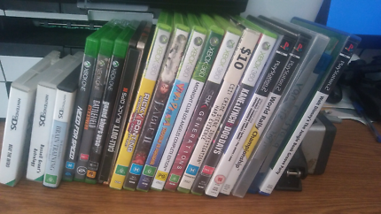 Xbox One/Xbox 360/ PlayStation/ Nintendo DS  Games up for Sale