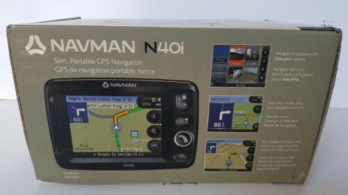 Navman N40i Slim, Portable GPS Navigation with Accessories Bundle. Tested.