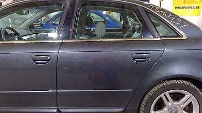 05-08 Audi A4 Sedan Left Rear Door (Dolphin Grey LX7Z) OEM