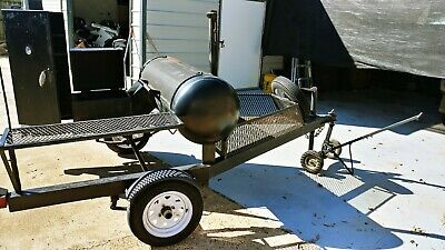 Bbq Smokergrill Mobile Trailer