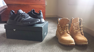 Adidas NMD's and Timberlands Hallam Casey Area Preview
