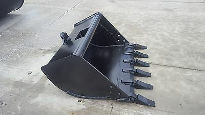 New 36 Tag Coupler Style Excavator Bucket Fits 9-12k Machines - 1.25 Pin