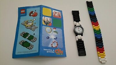 Vintage LEGO Kids Clic-Time Buildable Watch - Rare