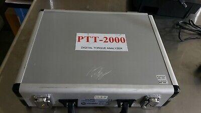 Mountz Ptt-2000 Torque Analyzer 072999 Angle Force Torquemate With Sensor
