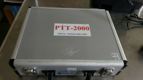 Mountz PTT-2000 Torque Analyzer 072999 Angle Force Torquemate with Sensor
