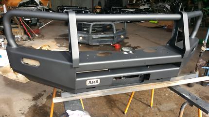 Mitsubishi triton arb winch bar