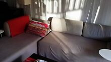 2 ikea lounge sofa with small coffee table attached on sale Chatswood Willoughby Area Preview