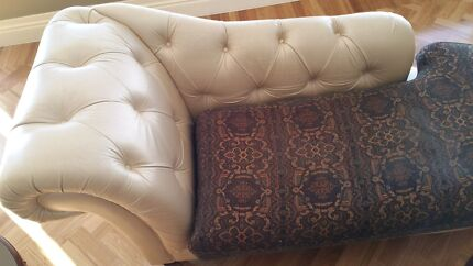 Leather and fabric 3 piece lounge West End Brisbane South West Preview