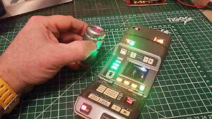 Star Trek Playmates Medical Tricorder Upgrade Electronics Kit! + Battery System!