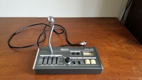 ICOM SM-10 Desk Microphone Compressor Graphic Equalizer