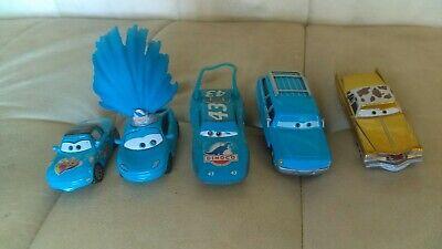 Disney Pixar Cars Diecast Lot Rare Mrs The King Tex Dinoco Fan Tia Show Girl
