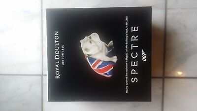 Royal Doulton Jack Bulldog SPECTRE James Bond Figurine DD 007M New In Box