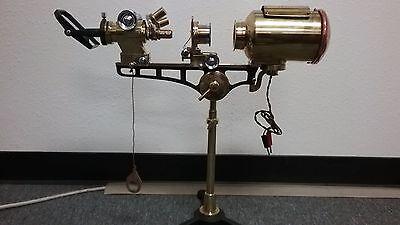 Antique Microscope Projector