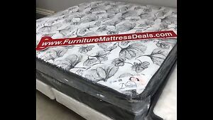 "NEW King Size 76""""x78"", 14"" Thick Euro-top Mattress  only $700"