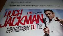 Broadway to OZ - Hugh Jackman - SYDNEY Glenfield Campbelltown Area Preview