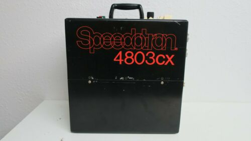 Speedotron 4803CX Black Line Studio Strobe Lighting Power Supply Pack 4803 *Read