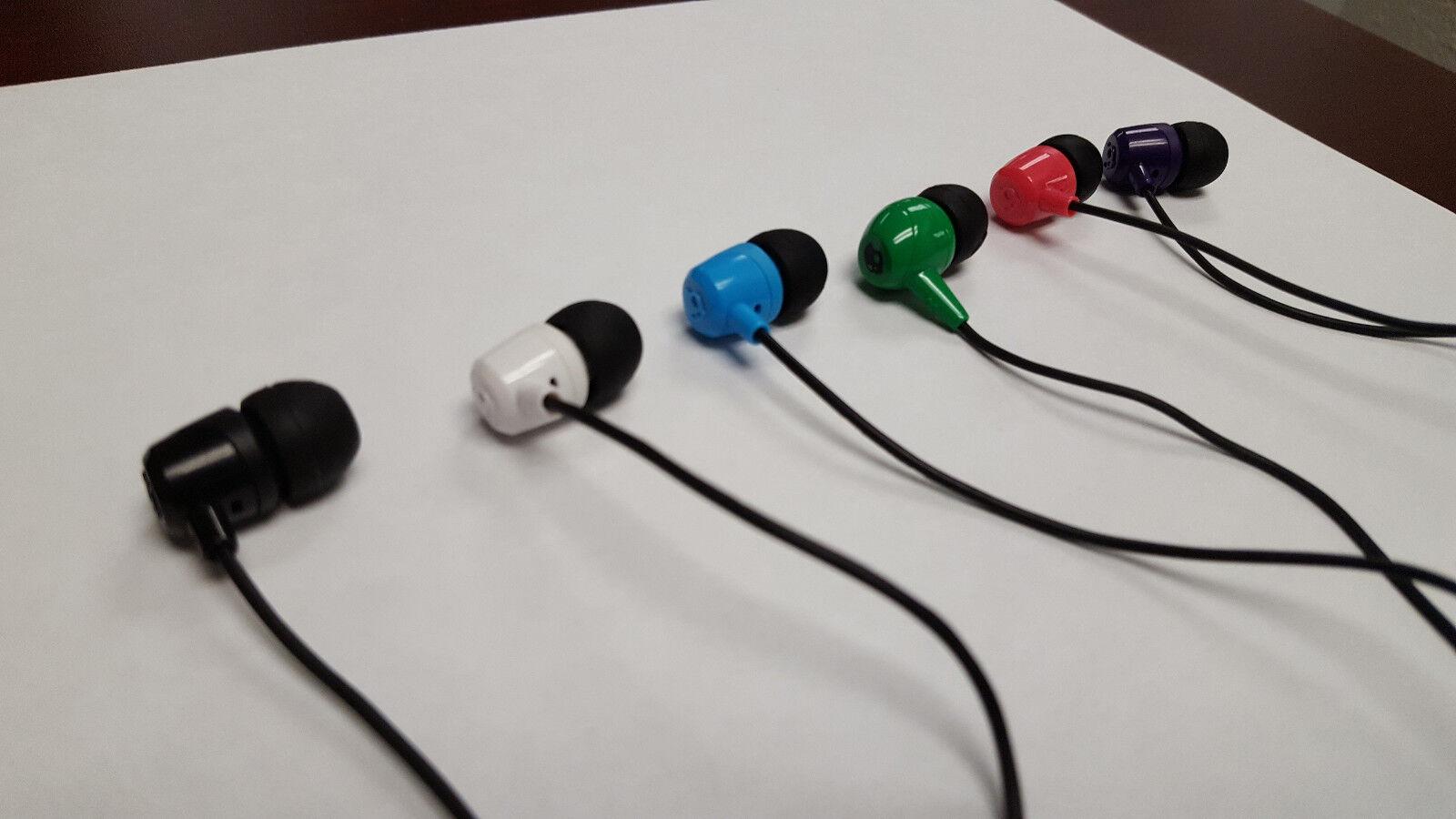 Headphones - Skullcandy JIB In-Ear Earbud Stereo Headphones Black, Pink, Blue, White, Green!!