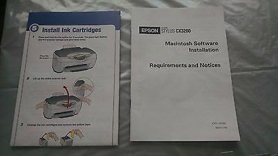Руководство Epson Stylus CX3200 Printer catalogue