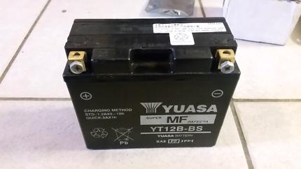 Yuasa motorcycle battery YT12B-BS