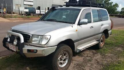 2000 Toyota LandCruiser new battery Gray Palmerston Area Preview