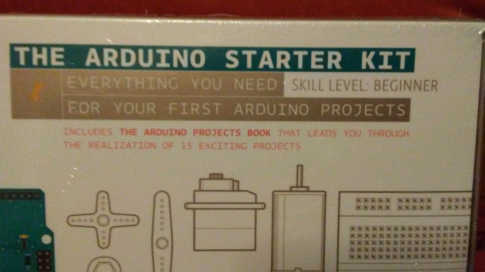 (NEW!) ARDUINO DIGITAL ELECTRONIC PROJECT STARTER KIT  w. 170 pg Project Book
