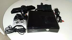 XBOX 360S + Kinect + 2 Wireless Controllers Gordon Ku-ring-gai Area Preview