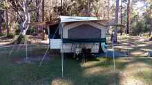 One of a kind caravan! Sleeps 8, Hot water system external shower Coffs Harbour Coffs Harbour City Preview