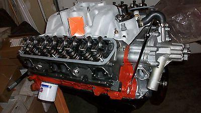 Mopar Dodge 360 BUILT engine LONG BLOCK PORTED NEW  E/Q Iron Heads 'LA' INT MAN