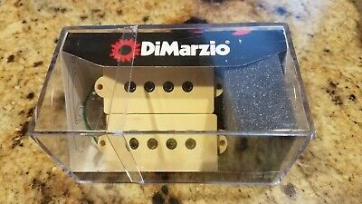 DiMarzio Model P Bass Pick-up Set Crème Cream DP 122