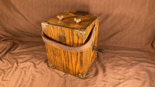 Antique Holtzer Cabot Dynamite TNT Blasting Detonator Box