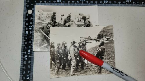 K1985 WW2 Japanese Navy Set of 2 Photos L3E
