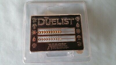 Duelist Abacus Black Life Counter 1996 New Sealed MTG Magic the Gathering