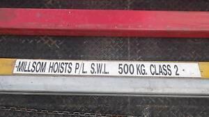 Millsom Hoist Gantry Crane Lifting Garage Light Industrial Chain Warrenheip Ballarat City Preview