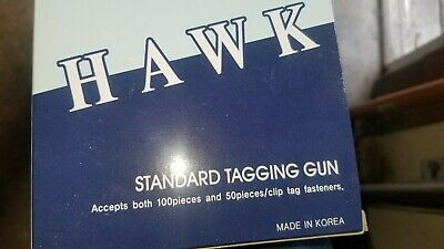 Hawks Standard Needle Garment Clothing Price Tagging Label Gun