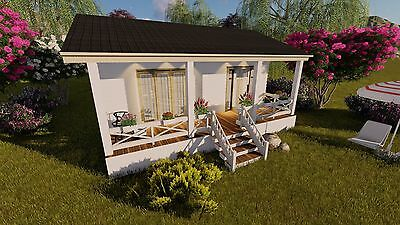 House Plans Build A Tiny House One Bedroom Home Cottage Small Tiny Living