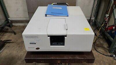 Shimadzu Uv-2401pc Uv-vis Recording Spectrophotometer B4s5